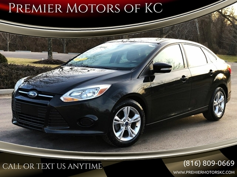 2014 Ford Focus for sale at Premier Motors of KC in Kansas City MO