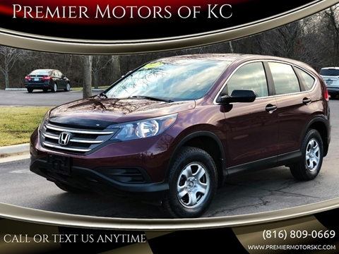 2012 Honda CR-V for sale at Premier Motors of KC in Kansas City MO
