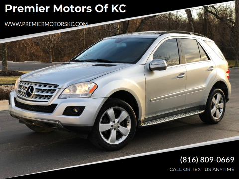 2010 Mercedes-Benz M-Class for sale at Premier Motors of KC in Kansas City MO