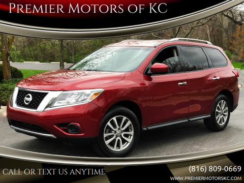 2016 Nissan Pathfinder for sale at Premier Motors of KC in Kansas City MO