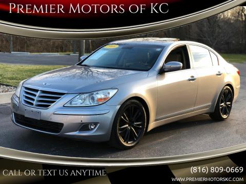 2009 Hyundai Genesis for sale at Premier Motors of KC in Kansas City MO
