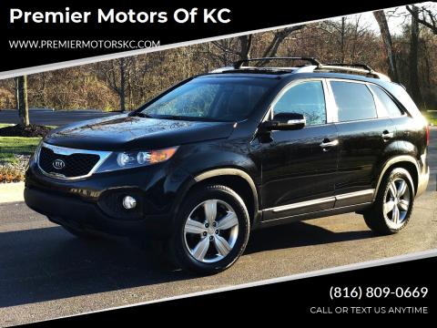 2013 Kia Sorento for sale at Premier Motors of KC in Kansas City MO
