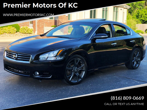 2014 Nissan Maxima for sale at Premier Motors of KC in Kansas City MO