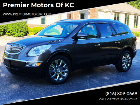 2012 Buick Enclave for sale at Premier Motors of KC in Kansas City MO