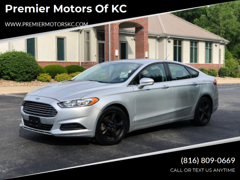 2013 Ford Fusion for sale at Premier Motors of KC in Kansas City MO