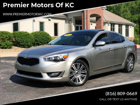 2014 Kia Cadenza for sale at Premier Motors of KC in Kansas City MO