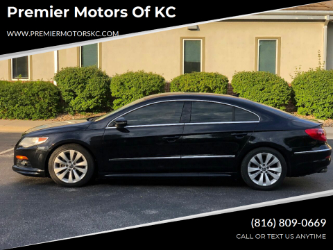 2010 Volkswagen CC for sale at Premier Motors of KC in Kansas City MO
