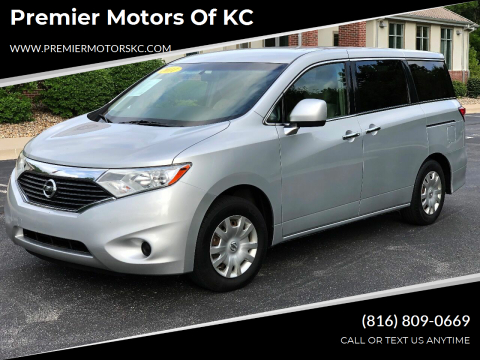 2011 Nissan Quest for sale at Premier Motors of KC in Kansas City MO