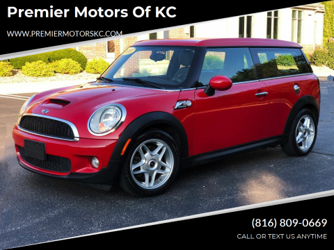 2010 MINI Cooper Clubman for sale at Premier Motors of KC in Kansas City MO