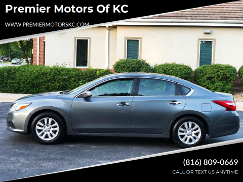 2016 Nissan Altima for sale at Premier Motors of KC in Kansas City MO