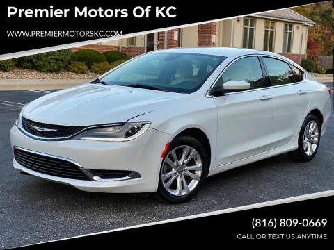 2015 Chrysler 200 for sale at Premier Motors of KC in Kansas City MO