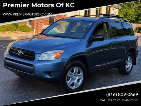 2008 Toyota RAV4 for sale at Premier Motors of KC in Kansas City MO