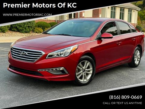 2015 Hyundai Sonata for sale at Premier Motors of KC in Kansas City MO