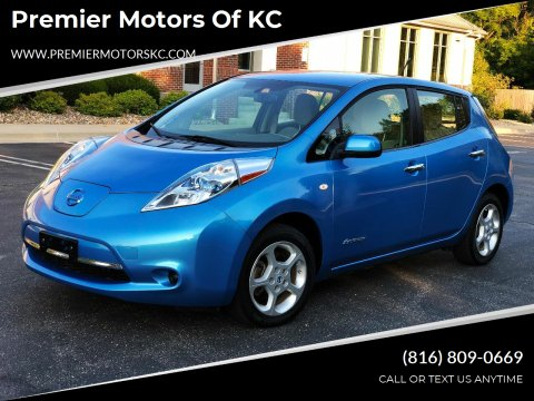 2012 Nissan LEAF for sale at Premier Motors of KC in Kansas City MO