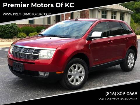 2008 Lincoln MKX for sale at Premier Motors of KC in Kansas City MO