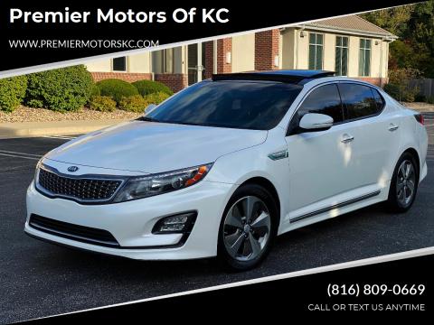 2014 Kia Optima Hybrid for sale at Premier Motors of KC in Kansas City MO