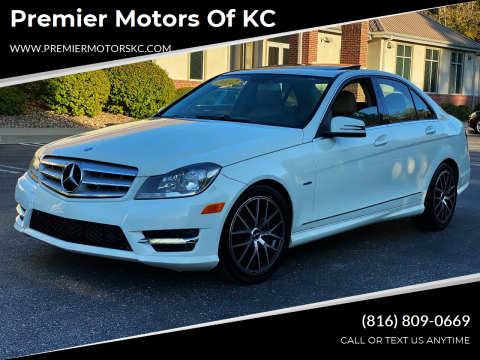2012 Mercedes-Benz C-Class for sale at Premier Motors of KC in Kansas City MO