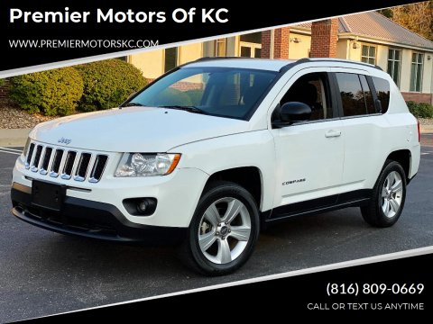 2012 Jeep Compass for sale at Premier Motors of KC in Kansas City MO