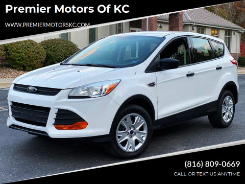 2013 Ford Escape for sale at Premier Motors of KC in Kansas City MO