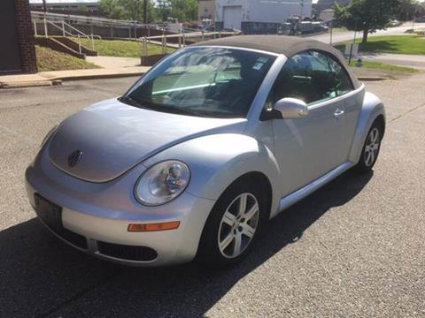 2006 Volkswagen New Beetle for sale at Auto Wholesalers Of Rockville in Rockville MD