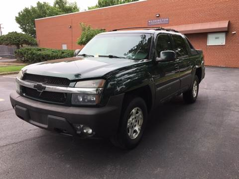 2003 Chevrolet Avalanche for sale at Auto Wholesalers Of Rockville in Rockville MD