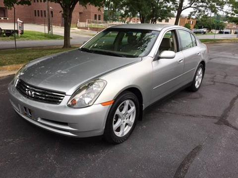 2004 Infiniti G35 for sale at Auto Wholesalers Of Rockville in Rockville MD