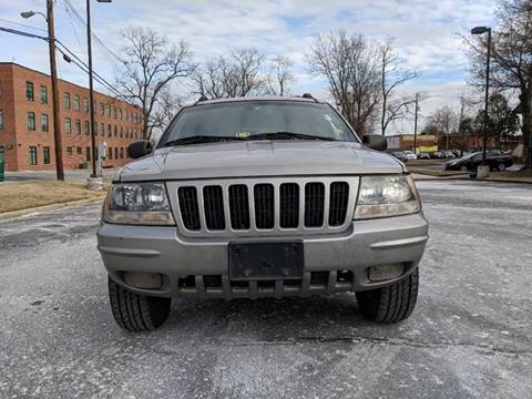 2000 Jeep Grand Cherokee for sale at Auto Wholesalers Of Rockville in Rockville MD