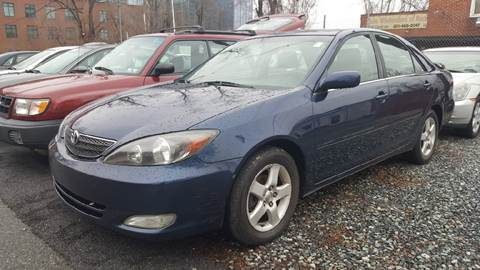 2002 Toyota Camry for sale at Auto Wholesalers Of Rockville in Rockville MD