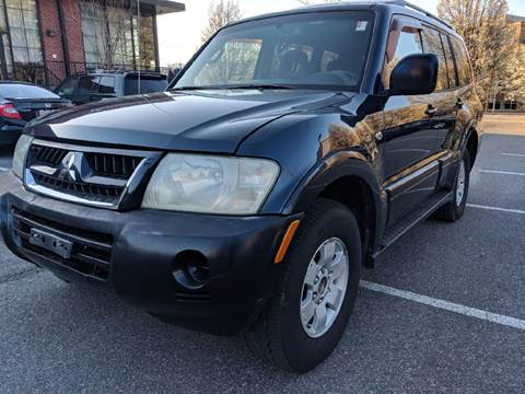 2003 Mitsubishi Montero for sale at Auto Wholesalers Of Rockville in Rockville MD