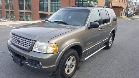 2002 Ford Explorer for sale at Auto Wholesalers Of Rockville in Rockville MD