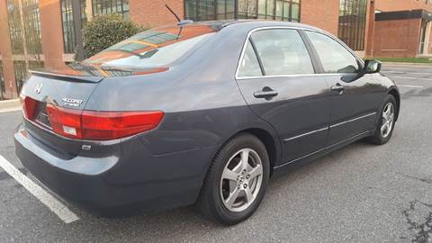 2005 Honda Accord for sale at Auto Wholesalers Of Rockville in Rockville MD