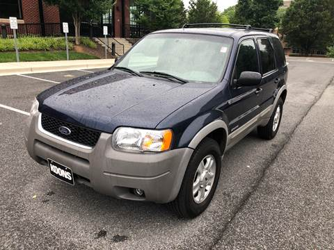 2002 Ford Escape for sale at Auto Wholesalers Of Rockville in Rockville MD