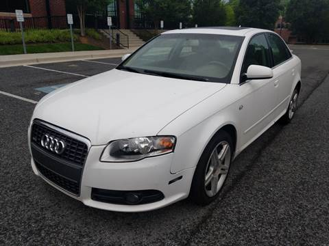 2008 Audi A4 for sale at Auto Wholesalers Of Rockville in Rockville MD