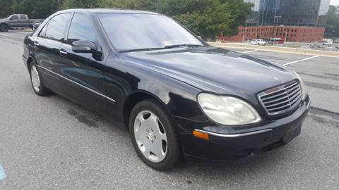 2001 Mercedes-Benz S-Class for sale at Auto Wholesalers Of Rockville in Rockville MD