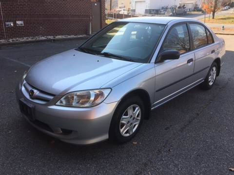 2005 Honda Civic for sale at Auto Wholesalers Of Rockville in Rockville MD