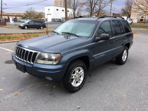 2002 Jeep Grand Cherokee for sale at Auto Wholesalers Of Rockville in Rockville MD