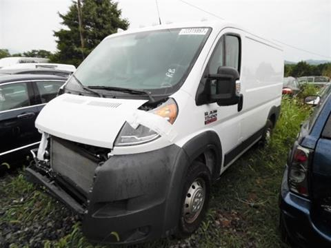 2016 RAM ProMaster Cargo for sale at East Coast Auto Source Inc. in Bedford VA