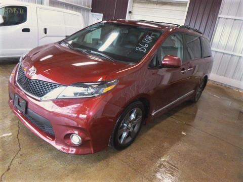 2016 Toyota Sienna for sale in Bedford, VA