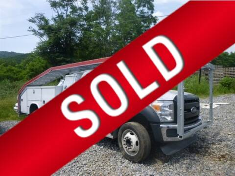 2016 Ford F-550 Super Duty for sale at East Coast Auto Source Inc. in Bedford VA