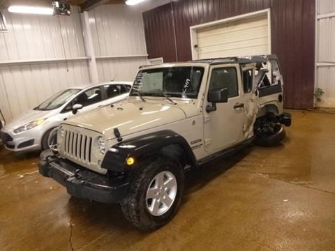 2017 Jeep Wrangler Unlimited for sale in Bedford, VA