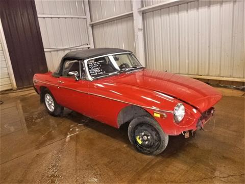 1979 MG MGB CONVER for sale in Bedford, VA