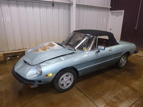 1982 Alfa Romeo Spider for sale in Bedford, VA
