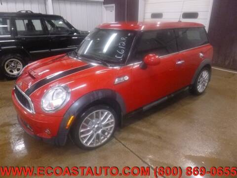 2010 MINI Cooper Clubman for sale at East Coast Auto Source Inc. in Bedford VA