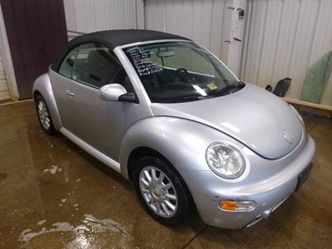 2005 Volkswagen New Beetle Convertible for sale at East Coast Auto Source Inc. in Bedford VA