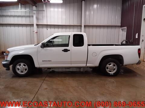 2005 GMC Canyon for sale at East Coast Auto Source Inc. in Bedford VA