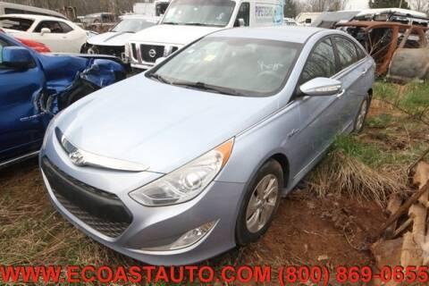2013 Hyundai Sonata Hybrid for sale at East Coast Auto Source Inc. in Bedford VA
