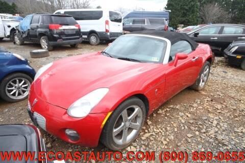 2008 Pontiac Solstice for sale at East Coast Auto Source Inc. in Bedford VA