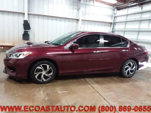 2016 Honda Accord for sale at East Coast Auto Source Inc. in Bedford VA
