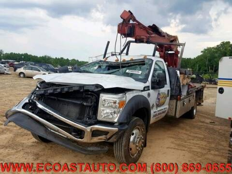2012 Ford F-550 Super Duty for sale at East Coast Auto Source Inc. in Bedford VA