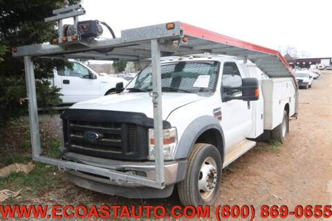 2008 Ford F-550 Super Duty for sale at East Coast Auto Source Inc. in Bedford VA